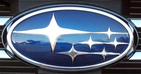 black subaru logo image gallery subaru badge