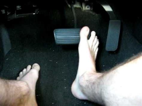 Do You Drive Shoeless by Barefoot Driving