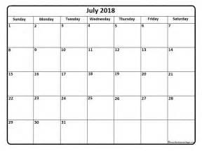 Calendrier 2018 To Print July 2018 Calendar July 2018 Calendar Printable