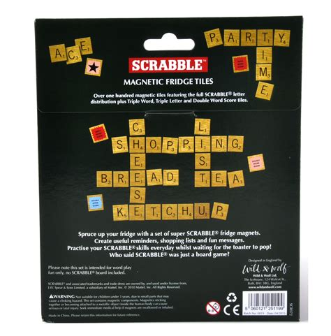 fridge scrabble scrabble fridge magnet set pink cat shop