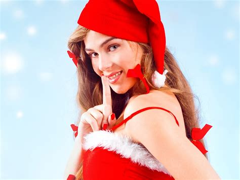christmas beauty european christmas beauty model hd
