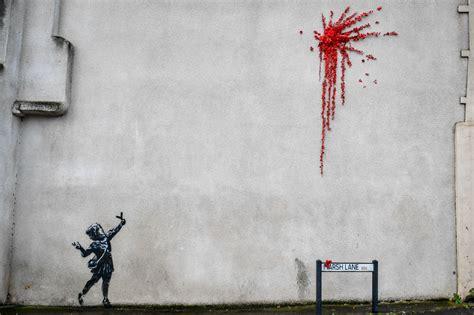 banksy confirms bristol mural   workjust  time
