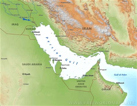 gulf maps