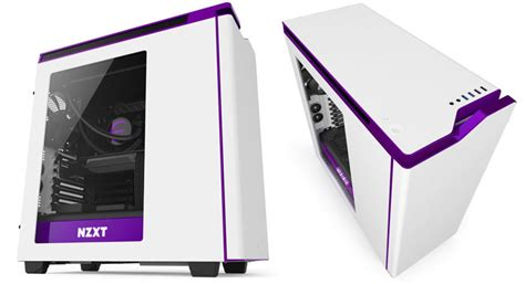 Nzxt Hue Black White By Aconx nzxt adds purple highlights to s340 h440 and hue