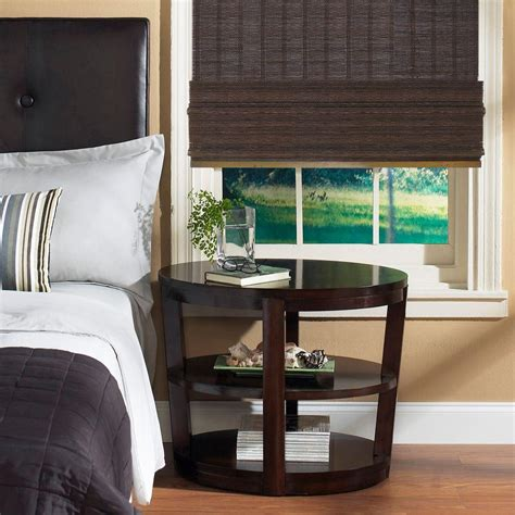 home decorator collection blinds home decorators collection espresso fine weave bamboo