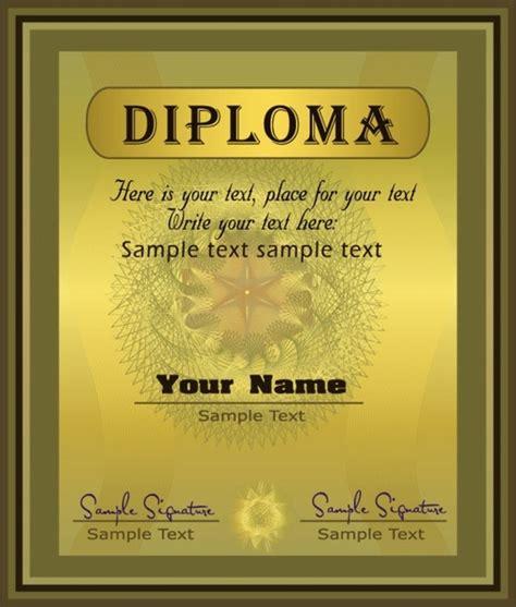 diploma certificate template free vector 13 160