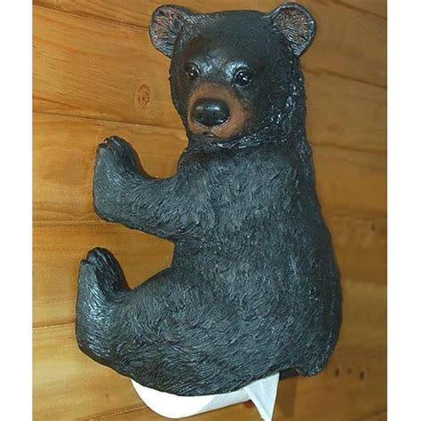 bear toilet paper holder bear toilet paper holder cabin place