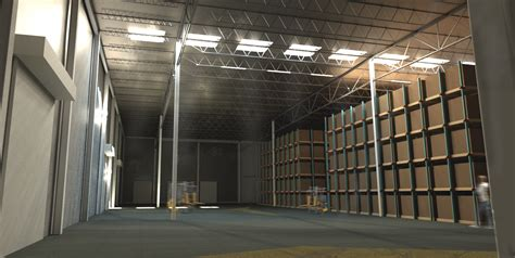 warehouse interior warehouse rendering william a kibbe associates inc