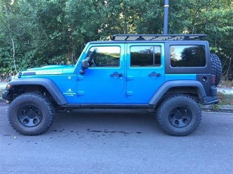 Baby Blue Jeep Wrangler Purchase Used Jeep Wrangler Rubicon In Beaver Utah
