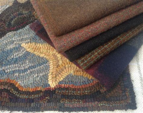 wool fabric for rug hooking wool fabric for rug hooking and applique quarter yard me brown j964