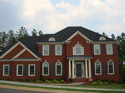 best roof color for brick house brick homes exterior house colors with brick