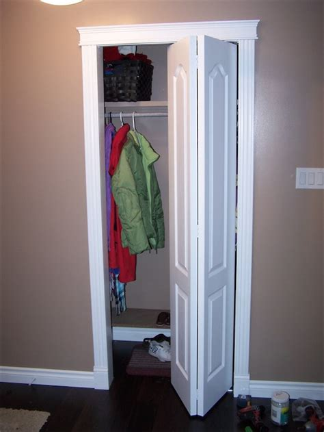 How To Replace Closet Doors by How To Install Bifold Closet Doors