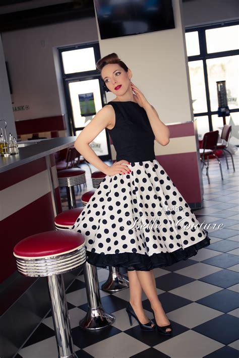 40er Jahre by Atelier Couture 50er Jahre Rockabilly Petticoatkleid
