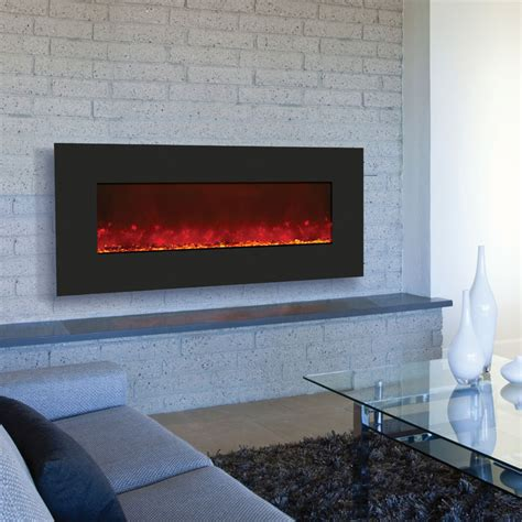 amantii wall mount or built in electric fireplace w 51x23