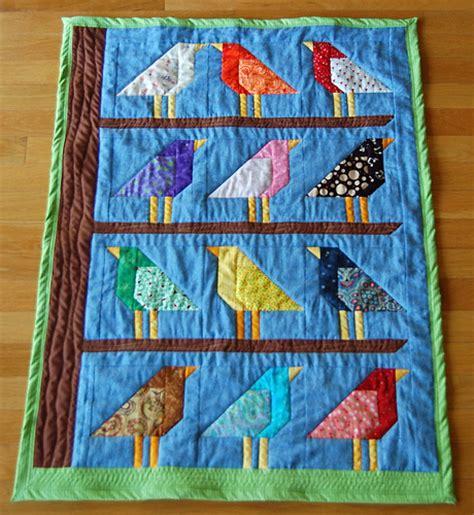Bird Quilt by Baby Quilt