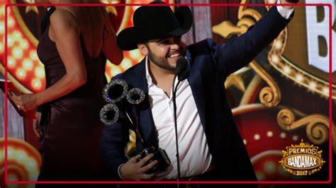 christian nodal gerardo ortiz y banda ms destacan en la ellos fueron los ganadores en los premios bandamax 2017 radio turquesa