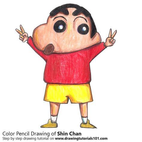 Kaos Anime Kartun Shin Chan Blue colour ingenious ideas pictures to print