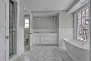 Wood Looking Tile In Bathroom