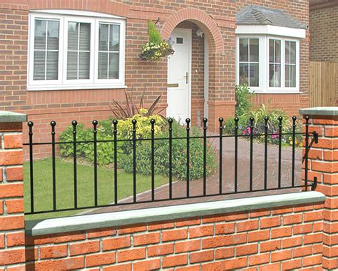 Wall And Railings Timber And Concrete Fencing