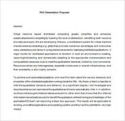 Dissertation Project Plan Template by Dissertation Template 14 Free Sle Exle