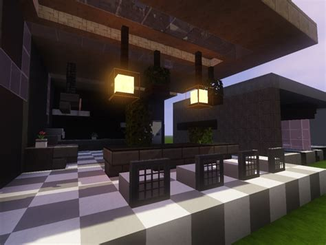 Minecraft Modern Kitchen Designs 3 Modern Kitchen Designs Minecraft Project