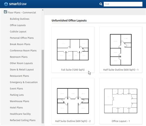 office furniture templates for floor plans office layout planner free app