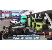 WelderUp Rat Rod Car Hauler Tractor At SEMA 2015  Vegas Rods