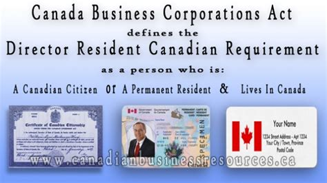 Mba Schools In Canada Requirements by Director Resident Canadian Requirements Favething