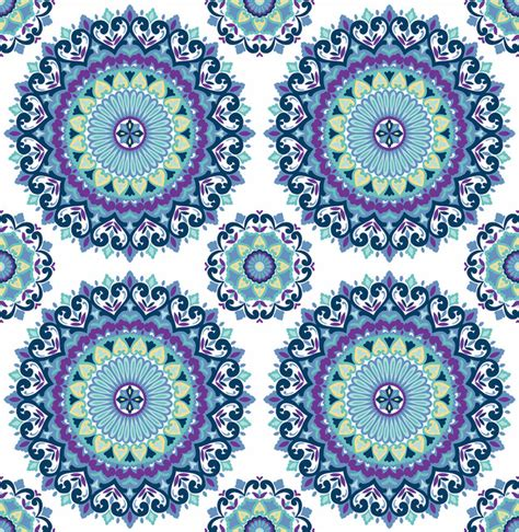 boho wallpaper gemma indigo boho medallion wallpaper swatch