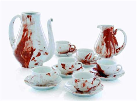 blood themed home furnishings to freak your senses