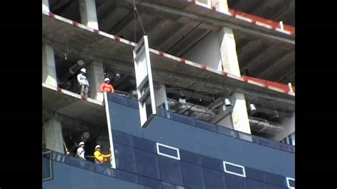 curtain wall installation method ctc curtain wall install video youtube