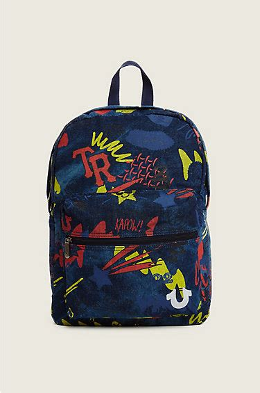 Feligio Backpack true religion book bags style guru fashion glitz