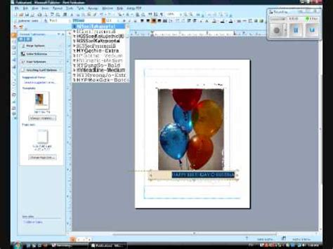 how to make a birthday card on microsoft word 2007 the basics and how to make a birthday greeting card on