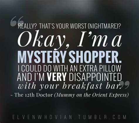 Dr Who Quotes About