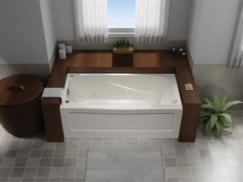 mirolin bathtub mirolin tuscon 60 inch x 32 inch skirted acrylic jet air