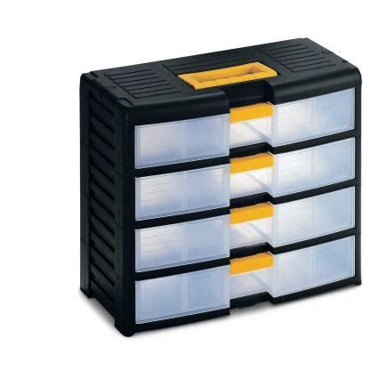 cassettiere terry terry store age 42001 nero trasparente cassettiera