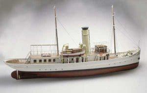 caldercraft schaarhorn steam yacht  scale