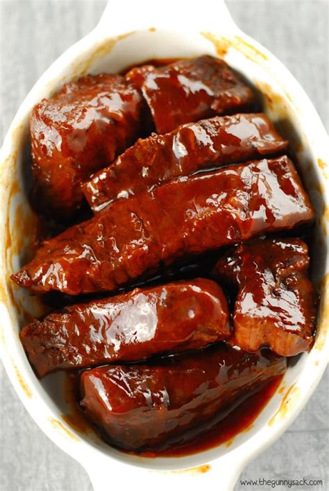 how to bbq country style ribs cooker barbecue ribs recipe the gunny sack