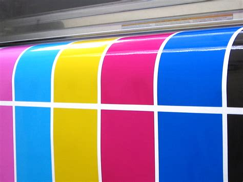 color printing process cmyk inks spot colours in professional printing