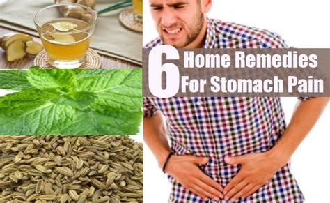 6 stomach home remedies treatments and cure