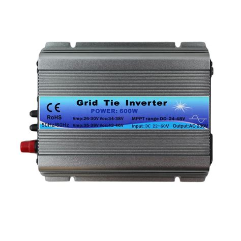 600w mppt micro grid tie inverter 30v 36v panel 72 cells