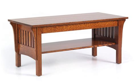 1800 Mission Coffee Table Ohio Hardwood Furniture Mission Oak Coffee Table