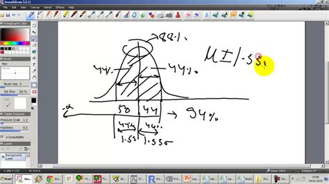 10 exercises on normal distribution