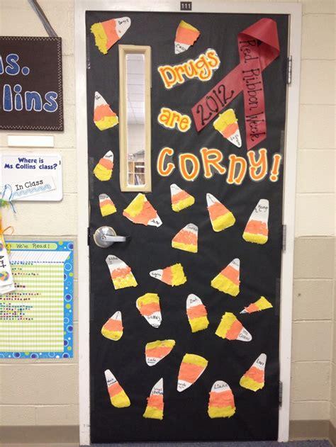 ribbon week classroom door school days