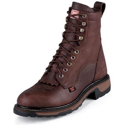 tony lama work boots shop s tony lama briar waterproof lace up work boots