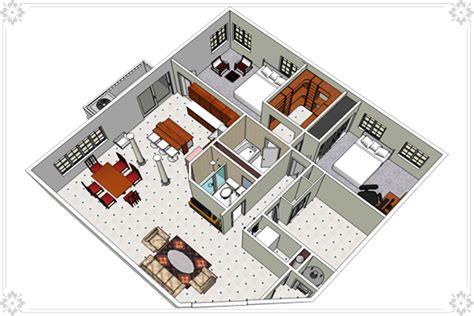 Sketchup Floor Plans by Interior Design Using Sketchup Sketchup Interior