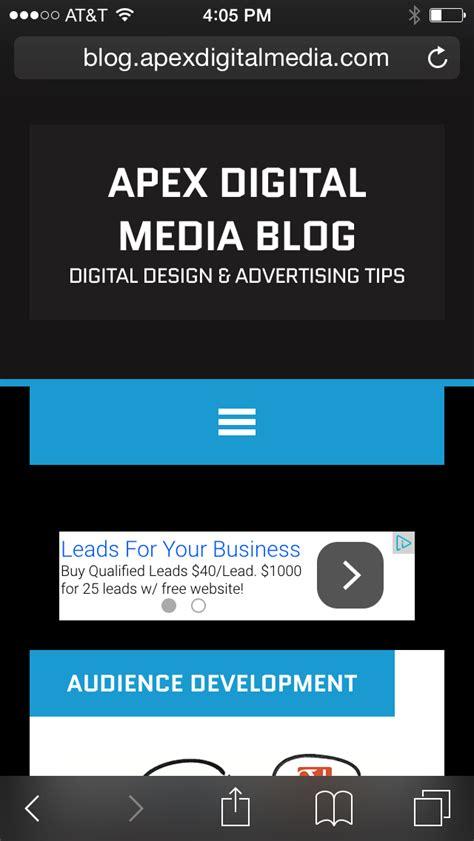 adsense mobile responsive web design for google adsense part 2 apex