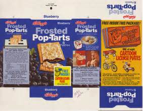 How To Make Pop Tarts In Toaster Kellogg S Pop Tarts Blueberry Cartoon License Plates