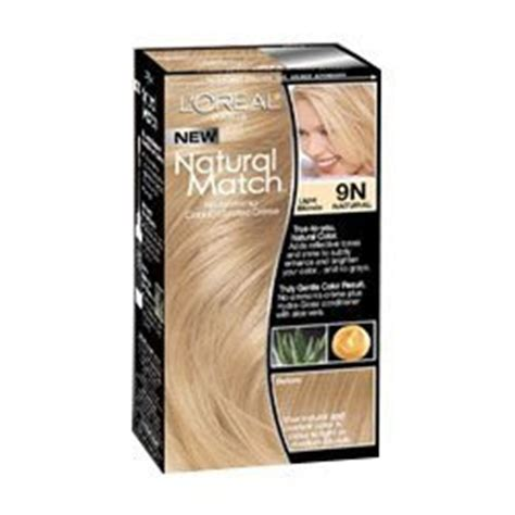 what dye matches blonde in mabinogi l oreal natural match hair color 9n light blonde