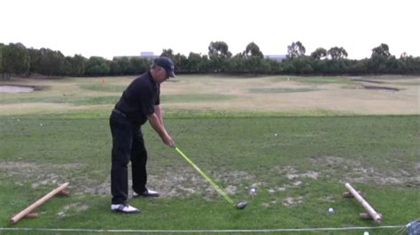 the hammer golf swing the easy golf swing hammer man style youtube